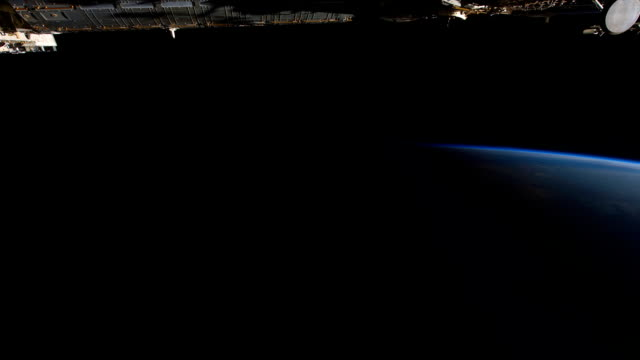 Planet Earth View From the ISS in Space video