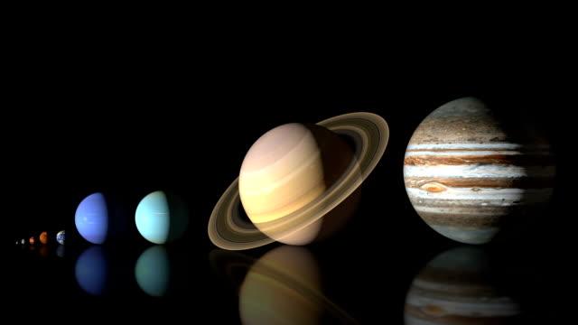 planeta rozmiary - jowisz filmów i materiałów b-roll