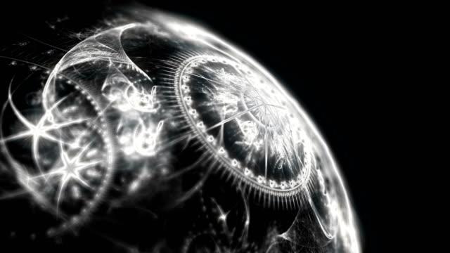 planet zodiac 4k video