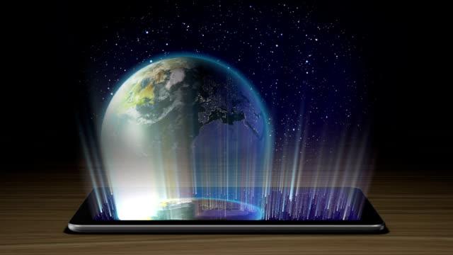 Planets hologram I part video
