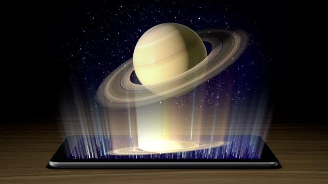 Planets hologram II part video