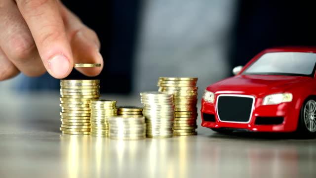 Planning Buy Car Savings - Car Ownership - 4K Resolution