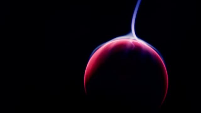 Plasma ball, closeup video