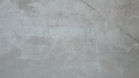 intonaco di cemento muro di festeggiare - calcestruzzo video stock e b–roll