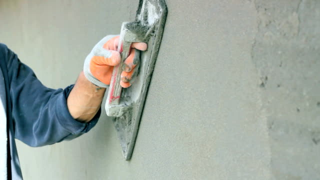 Plastering A Wall video