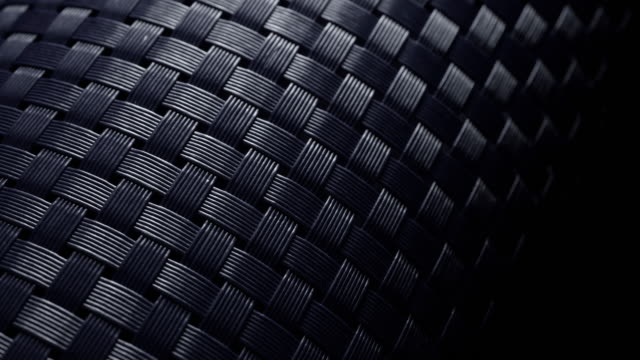 Plastic fabrics background. Fiber material. Extreme macro. durability stock videos & royalty-free footage