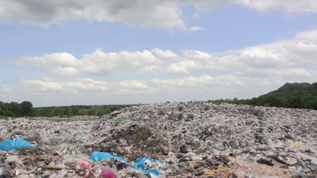 plastic garbage mountain plastic garbage mountain heap stock videos & royalty-free footage
