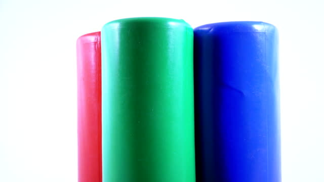 Plastic toy cylinder video