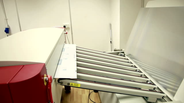 plate processor... - lithograph stock videos & royalty-free footage