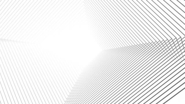 Platonik soyut çizgi animasyon video
