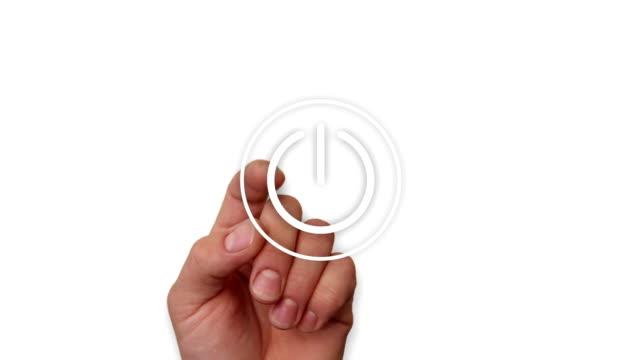 play media-vorspeise - zahlentastatur stock-videos und b-roll-filmmaterial