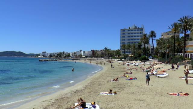 Playa d'en Bossa - Ibiza, Spain video