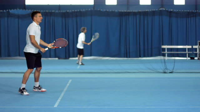 LS Player Hitting Forehand And Backhand Strokes video