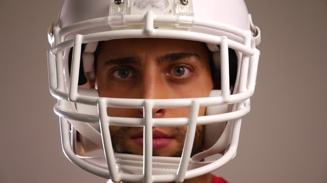 Player of American Football video