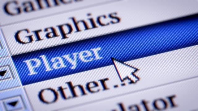 Player video