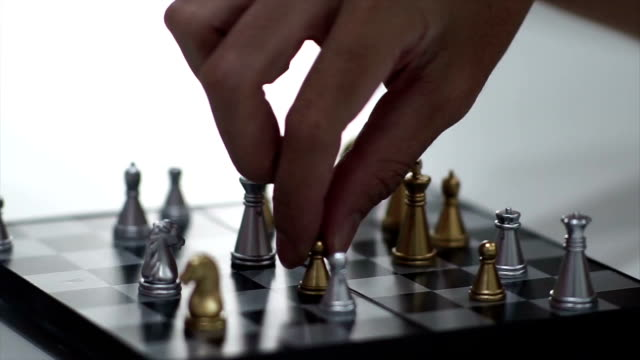 Player with Chess on game