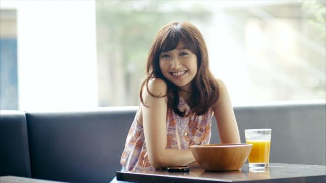 Royalty free kawaii girl hd video 4k stock footage b - Asian girl 4k ...