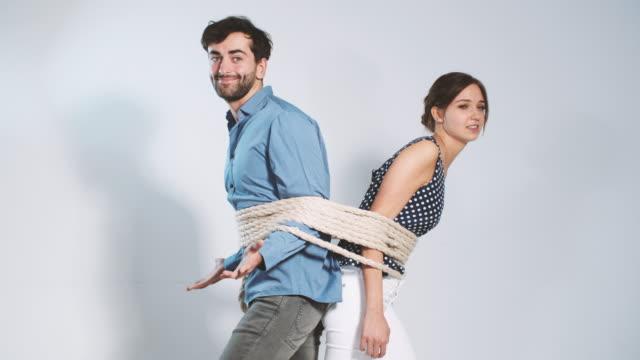 Playful couple