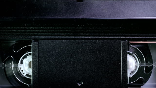 Playing a VHS Tape into a VCR Player video