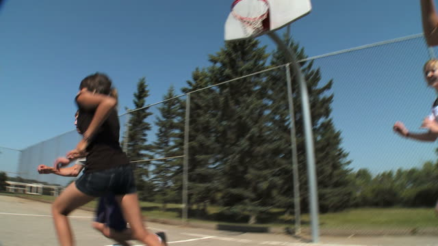 HD: Playing Basketball video