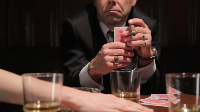 Playing cards video