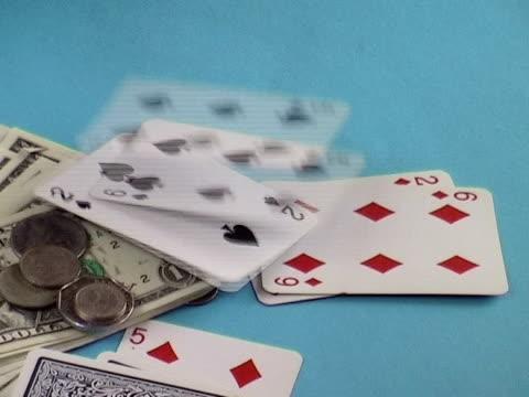 vídeos y material grabado en eventos de stock de naipes  - accesorio financiero