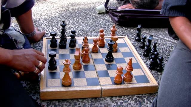 HD: Juego de ajedrez - vídeo