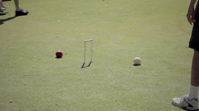 playing croquet - target australia stock videos & royalty-free footage