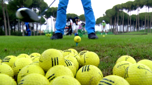 Playing Golf video