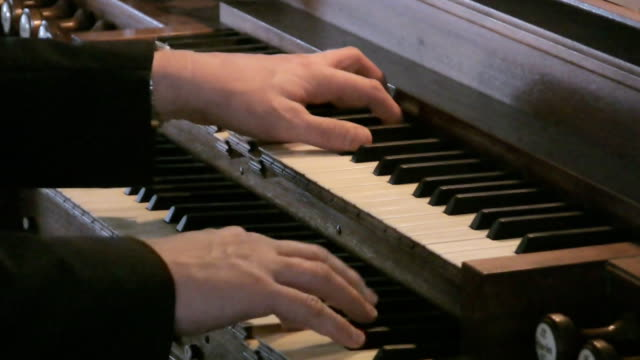 Playing Organ video