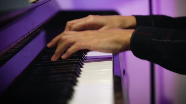 playing piano - classical architecture stock videos & royalty-free footage
