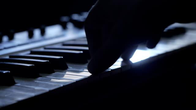 ピアノ演奏 - 動物の雄点の映像素材/bロール