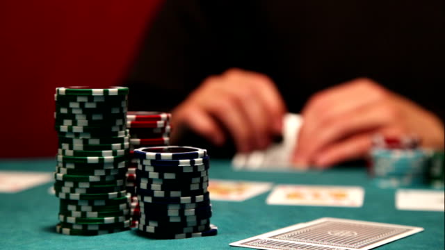 Playing poker video