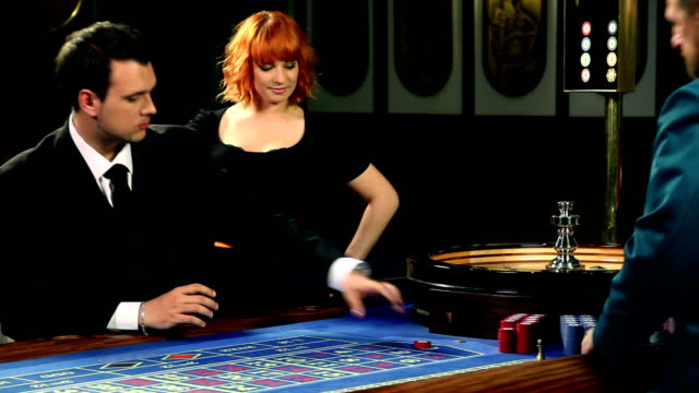 HD CLIP: Playing roulette video