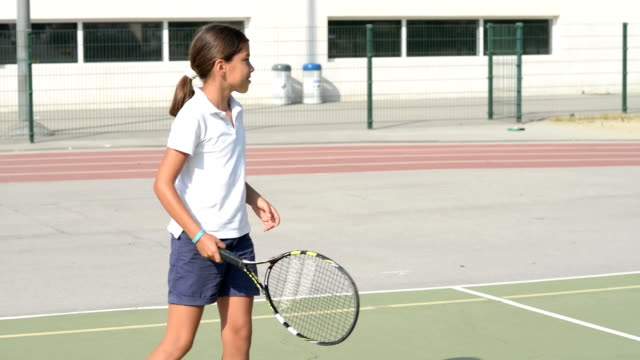 Playing Tennis video