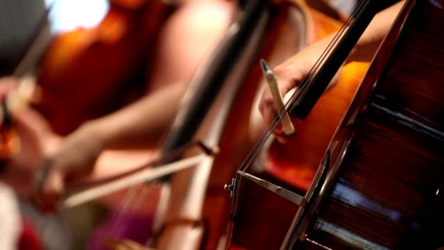 Playing violoncello video