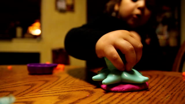 Playing with Clay video