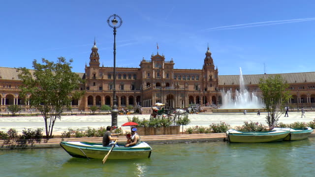 Plaza de España - Seville, Spain video