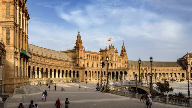 Plaza de Espana, Seville video