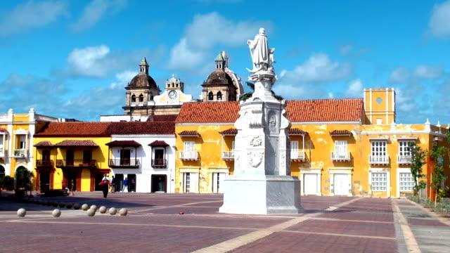 Plaza de la Aduana - Cartagena, Colombia video