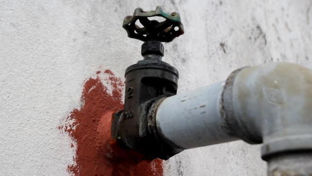 Plumbing Fixtures Repair plumbing leaks pipe connector stock videos & royalty-free footage