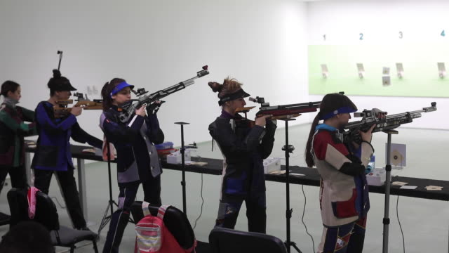 Pneumatic air rifle competition