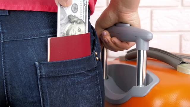 ポケットの盗難。 ビデオ
