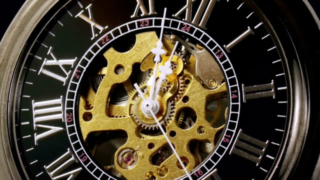 Pocketwatch Timelapse Zoom Out (HD) video