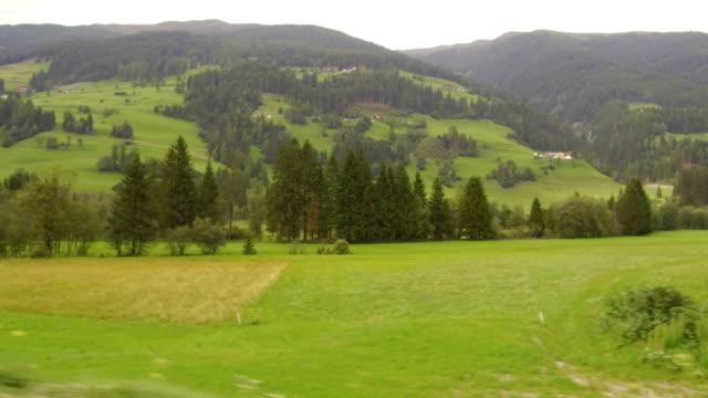 synvinkel med bil till lienz, österrike - delstaten tyrolen bildbanksvideor och videomaterial från bakom kulisserna