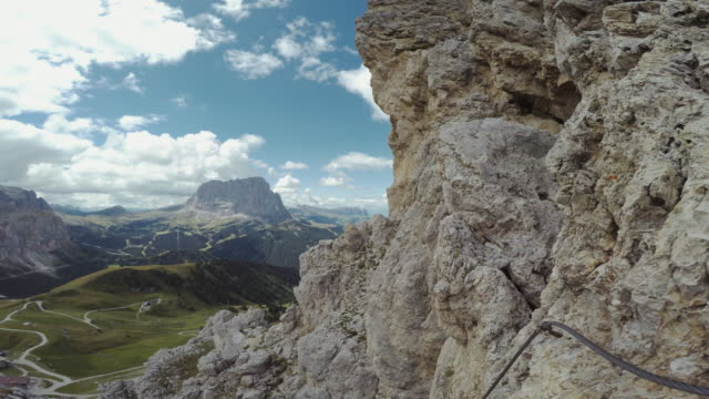 Point of View Video: climbing on the Alps video
