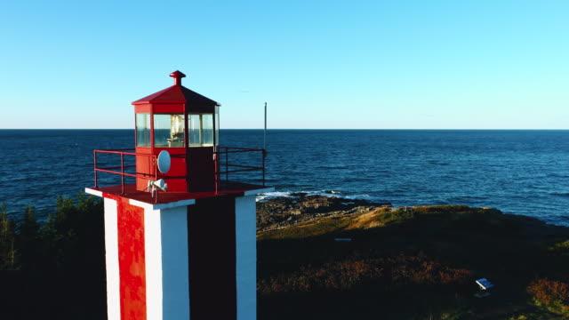 ポイントプリム灯台 (4k/60p) - 大西洋点の映像素材/bロール