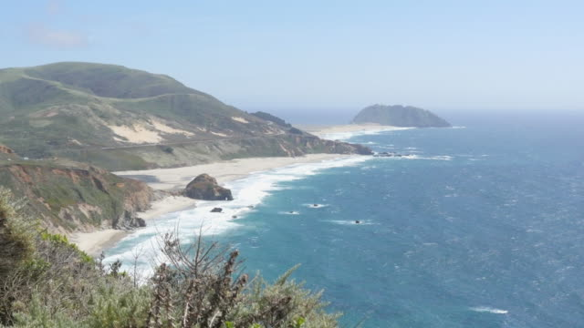 Point Sur on Cabrillo Highway video