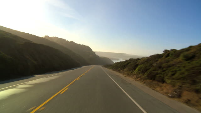 punto di vista guida - california video stock e b–roll