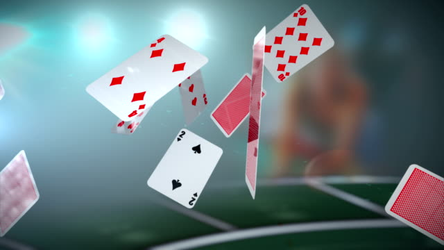 Poker. Cards video